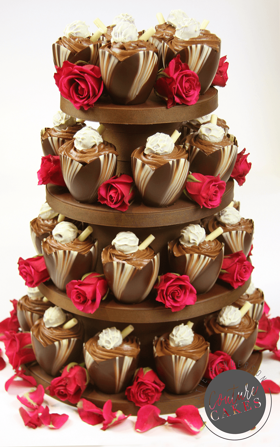 Provides 30 large dessert portions, Price as pictured £266 plus flowers