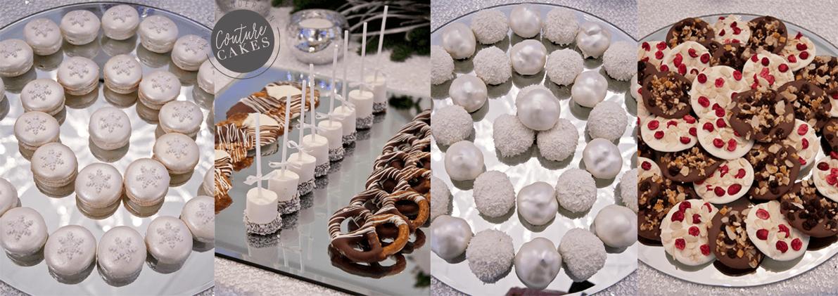 snowflake-dessert-table