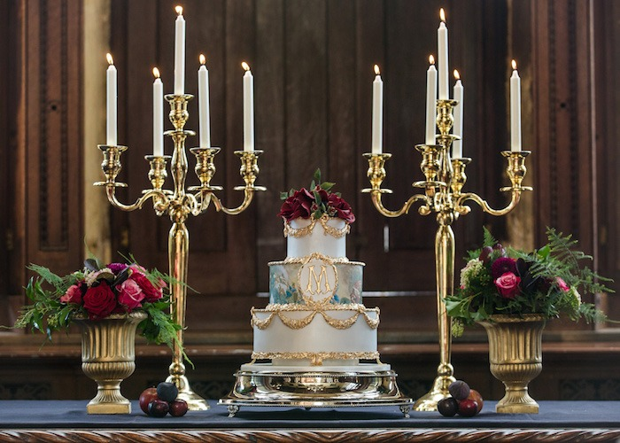 Burghleys Cake Heaven Serves 155, Price category D £690
